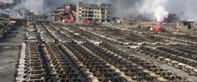 Explosión en Tianjin podría interrumpir envíos de Asia