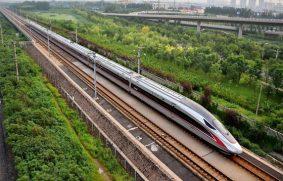 Vías férreas de alta velocidad en China