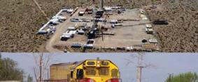 Obras Ferroviarias entre Vaca Muerta y Bahía Blanca
