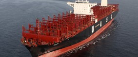 UASC bautizó primer mega fullcontainer impulsado por GNL del mundo