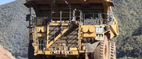 Camiones autónomos en mina de Vale