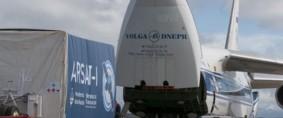 El satélite Arsat-1 partió a Guayana Francesa para ser lanzado al espacio