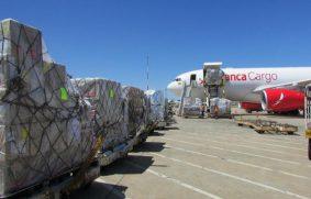 Demanda de carga aérea moderada en octubre