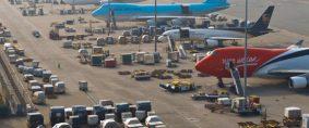 Demanda de transporte aéreo de carga creció a menor ritmo