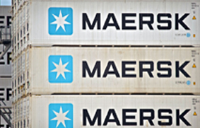containers de maersk