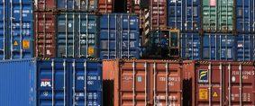 Sin matriz de transporte de contenedores