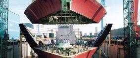 Menos órdenes de buques en construcción