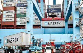 Logística de Maersk