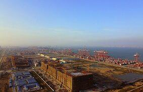 El puerto de Nansha