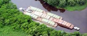 El transporte fluvial aporta mayores beneficios (I)