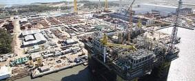 Brasil finaliza construcción de su mayor plataforma petrolera