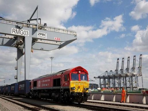 Primer tren de carga directo de Londres a China