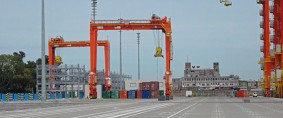 TecPlata: Scioli inaugura la terminal de contenedores
