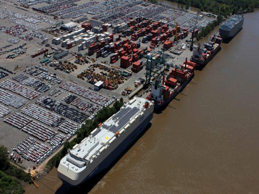 Infraestructura portuaria, inversión de Terminal Zárate