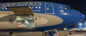 Aerolíneas Argentinas: 4 vuelos a USA con más de 123 ton de semillas