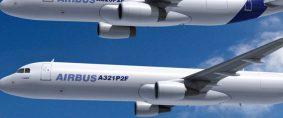 Aviones cargueros, Airbus baja la previsión