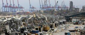 Explosión de Beirut golpea el transporte de contenedores