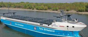 El primer buque totalmente autónomo postergado