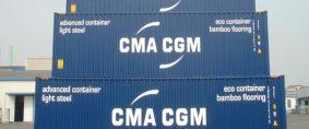 Rastreadores para 50.000 contenedores de CMA CGM