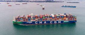 Flota a GNL de CMA CGM se ampliará a 26 buques