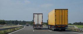 Transporte de cargas. Agosto el mes con más aumento
