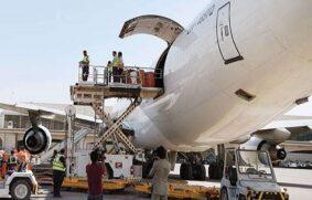 La demanda de carga aérea aumentó un 9% en febrero