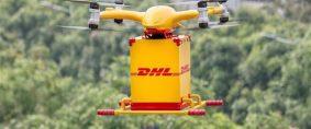 DHL Express. Primer servicio de entrega con drones