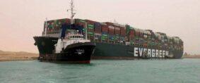 El Canal de Suez fue liberado y el Ever Given desencallado