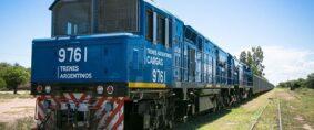 Trenes Argentinos Cargas comenzó obras de mejoras