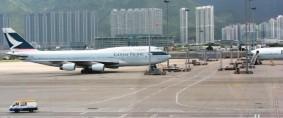 Aeropuerto de Hong Kong registró nuevo récord de vuelos