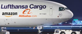 Lufthansa Cargo, posible cooperación con Amazon y Alibaba