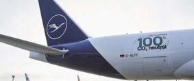 Vuelo neutro en CO2 de Lufthansa Cargo