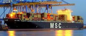 Servicio de MSC, Costa Este de Sudamérica-Europa
