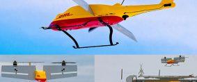 Parcelcopter de DHL en operación