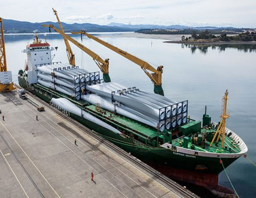Carga de Proyecto. El punto máximo de la logística marítima