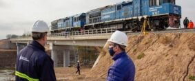 Timbúes: Habilitan nuevo acceso ferroviario