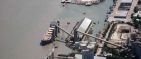Puertos de Bahía Blanca, 17% menos cargas en 2018