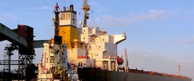 Notable avance de obras en el Puerto Quequén