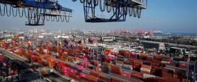 Puertos chinos saturados y el flete por las nubes