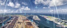 Puertos inteligentes y la industria marítima