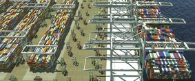 Un futuro escenario del transporte para los puertos