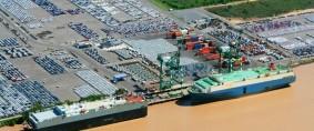 Terminales portuarias de vehículos en riesgo