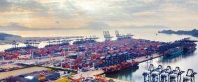 Congestión en Yantian es peor que el bloqueo de Suez