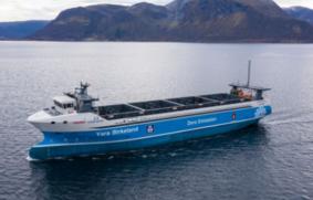 Yara Birkeland. Entregado el buque autónomo sin emisiones