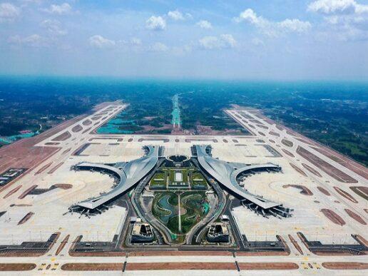 Mega aeropuerto Chengdu Tianfu operativo en China