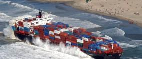 Este año encallaron buques por US$ 420 millones