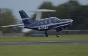 Avión comercial propulsado por hidrógeno