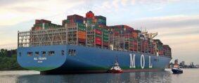MOL anunció que reducirá su flota por baja de comercio