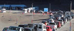 Paran aduaneros de Chile y la Argentina