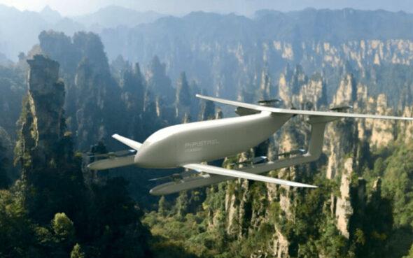 Nuuva V300. Nuevo avión de carga autónomo